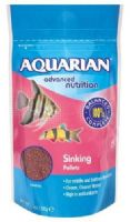 Aquarian Slow Sinking Pellet 568g for Tropical fish (2 x 284g)